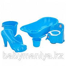 Dunya Plastik Набор для детей 5 предметов Голубой