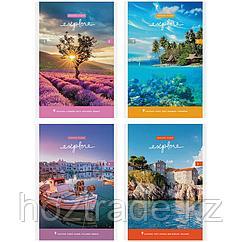 """Блокнот А 5 на скрепке, 80 листов, ArtSpace """" Путешествия. Красивые виды"""""""
