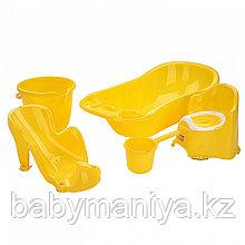 Dunya Plastik Набор для детей 5 предметов Желтый