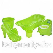 Dunya Plastik Набор для детей 5 предметов Зеленый