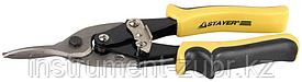Ножницы по металлу STAYER, прямые, Cr-V, 250 мм