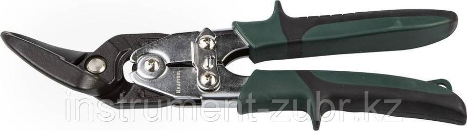 Ножницы по металлу KRAFTOL BULLDOG проходные с двойной рычажной передачей, левые, 260 мм, фото 2