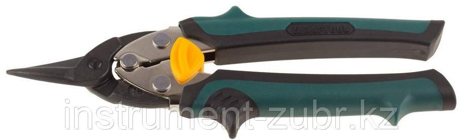 Ножницы по металлу KRAFTOOL COMPACT, Cr-Mo, компактные, прямые, 180 мм, фото 2