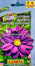 """Семена пакетированные Аэлита. Георгина Фигаро """"Махровая, фиолетовая"""""""