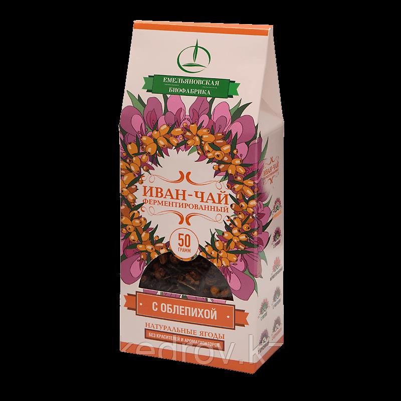 Иван-чай ферментированный с облепихой 50 гр