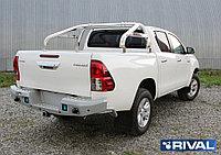 Дуги кузова d76 + комплект крепежа, RIVAL, Toyota Hilux 2015-