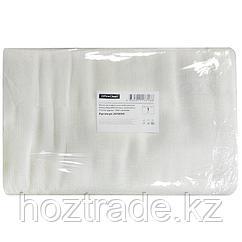 Ткань вафельная отбеленная шир. 40 см, длина 50 метров, 110г/м2