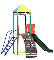 """Комплекс """"ОМЕГА-2"""" с горкой, спортивно-игровой для детей, фото 1"""