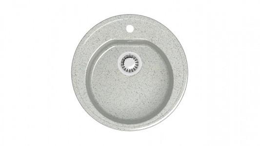 Мойка глянец Z03Q10 Черая (светл. сер.) +(сифон+герметик) Granit MARR MARRBAX