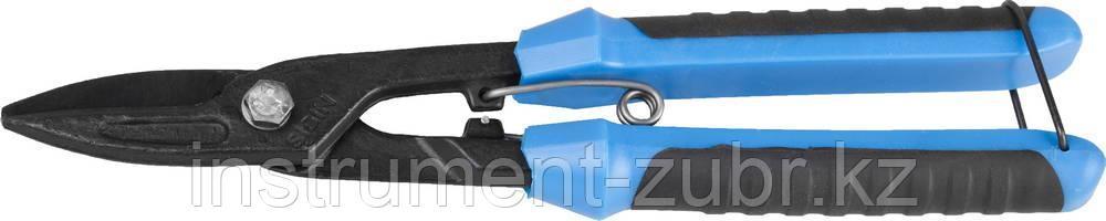 Ножницы по металлу СИБИН , прямые, с пружиной, 250 мм