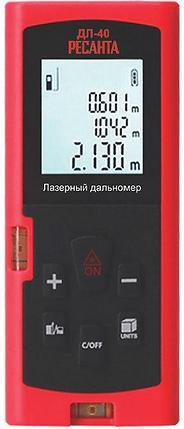 Лазерный дальномер РЕСАНТА ДЛ-40, фото 2