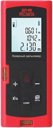 Лазерный дальномер РЕСАНТА ДЛ-60, фото 2