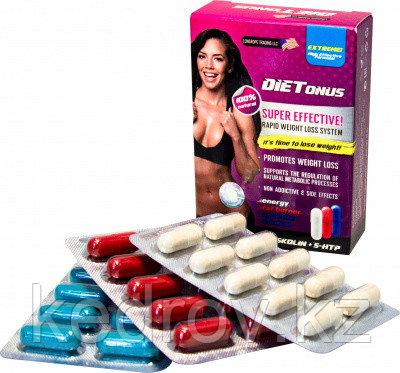 DieTonus (коррекция веса, энергия, снижение аппетита), капсулы №30*500 мг.