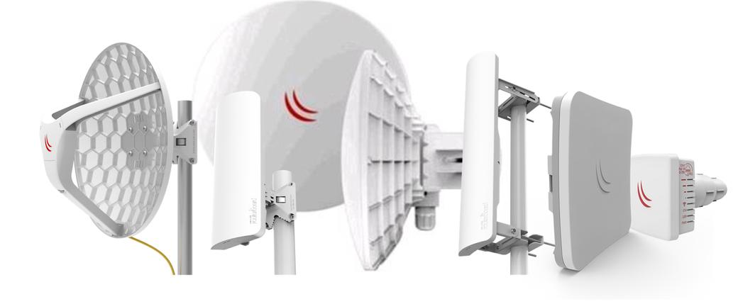 Выбор радиомоста Mikrotik 5GHz 802.11ac, c направленной антенной.