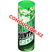 Цветной дым Smoking Fountain 30-40 сек зеленый