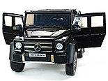 Электромобиль двухместный шестиколёсный Mercedes Benz G63 AMG 4WD 6x6 Черный, фото 3