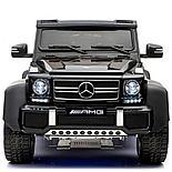Электромобиль двухместный шестиколёсный Mercedes Benz G63 AMG 4WD 6x6 Черный, фото 2