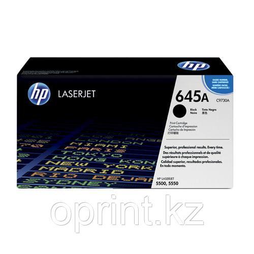 Картридж HP 645A черный