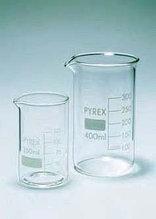Стакан лабораторный высокий В1-150 мл с делениями, ТХС (Pyrex)