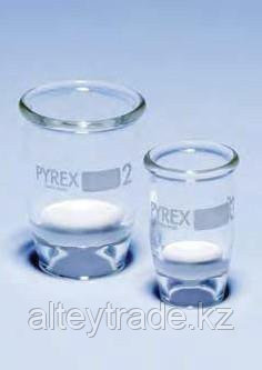 Тигель стеклянный 60 мл, тип Гуча, с фильтрующим диском 40 мм (пор.16-40 микрон), (класс пористости 3) (Pyrex)