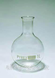 Колба круглодонная К-3-6000 без шлифа ТХС горловина 57 (Pyrex)