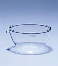 Чашка выпарительная плоскодонная ЧВП-2 (170 мл; d=95 мм) ТС (Pyrex)