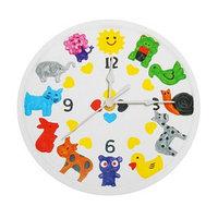 Роспись по гипсу, серия создай часы 'Животные', краски 8 цветов по 2 мл