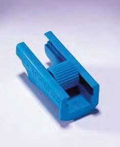 Зажим для резиновых/ПВХ трубок с d до 6 мм (Quickfit)