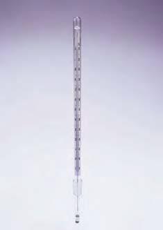 Термометр ртутный (-10+110*С) шлиф 10/19 (Quickfit). Снят с пр-ва в связи с запретом ЕС