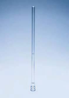 Стержень перемешивающий стеклянный, L-405 мм, для подсоединения перемешивающих насадок (SVL)