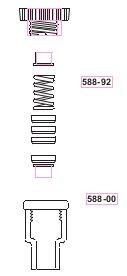 Подшипники запасные к переходникам для перемешивающих устройств (10 шт) (SVL)