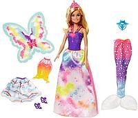 Кукла Барби Dreamtopia с комплектом одежды, фото 1