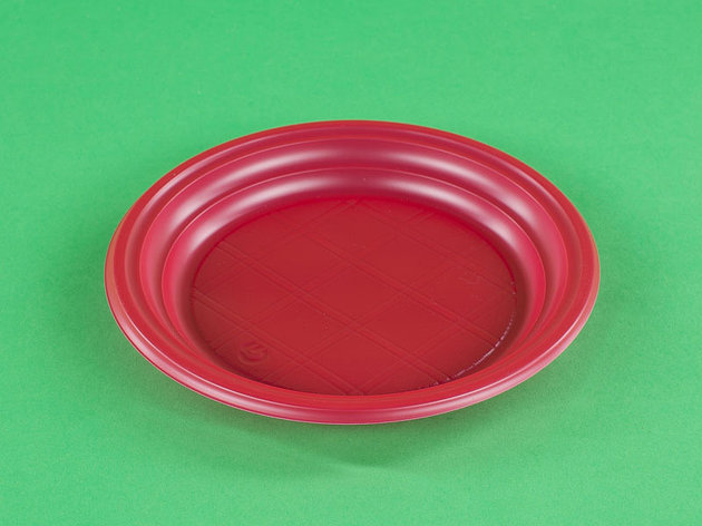 Тарелка десертная красная 165 мм., фото 2