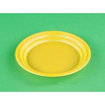 Тарелка десертная желтая 165 мм.