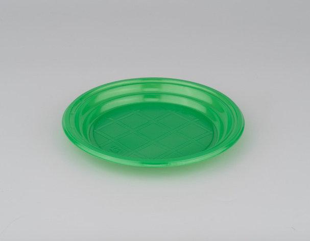 Тарелка десертная зеленая 165 мм., фото 2