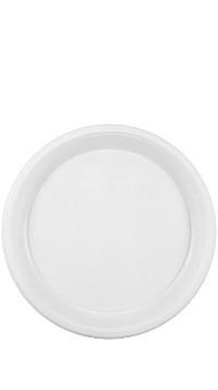 Тарелка десертная белая 205 мм.