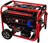 Бензиновый генератор 7кВт 220В на колесах с электростартером Magnetta, GFE 9000
