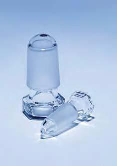 Пробка стеклянная пустотелая, ПП 24/29 (MBL)