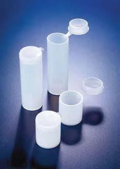Виала для образцов полиэтиленовая, V-10 мл, с плотно закрывающейся навесной крышкой (PE-LD) (Azlon)