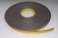 Двухсторонний скотч 3M 9556, основа вспененный полиэтилен 12mm*16.5m*3mm, черный