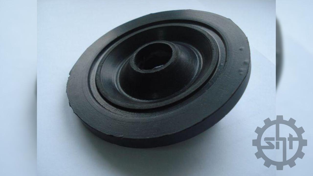 Диск резиновый очистителя сепаратора Р8-БЦСМ-50