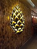 Изготовление световых букв в Астане, оформление ресепшена, фото 7