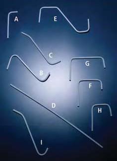 Трубка газоотводная полипропиленовая, изогнутая под углом 90*, d внут-4 мм (Azlon)