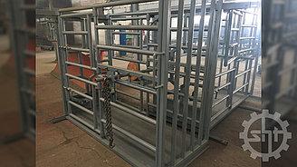 Станок для ветеринарной обработки животных КРС СВОЖ