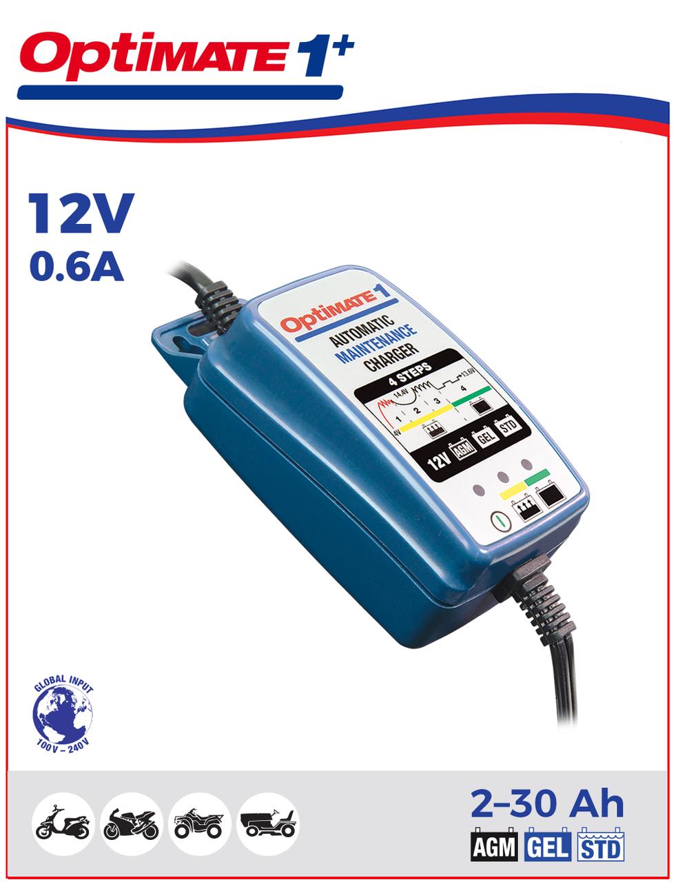 Зарядное устройство Optimate 1+ TM402 (1x0,6A, 12V)