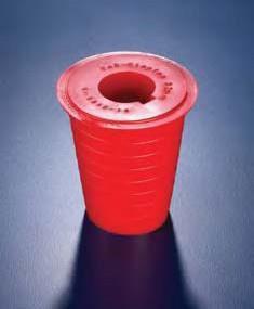 Пробка коническая из ПВХ с отверстием для трубок d-40-70 мм (Azlon)