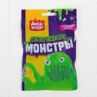 """Слизь для рук """"Скользкие монстры"""", 150 мл, зелёная"""