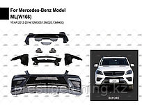 Рестайлинг пакет на ML-class W166 AMG