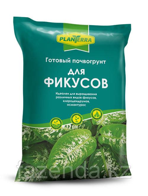 """PlanTerra почвогрунт для фикусов, 2,5л"""","""
