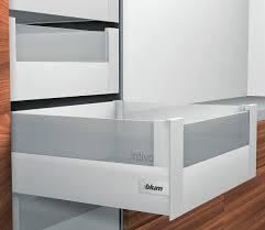 Выдвижной ящик TANDEMBOX Intivo+BOXCOVER L 450 узкий ящик белый шелк